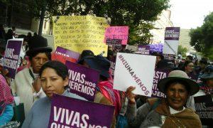 Bolivia mujeres derechos