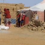 Reconstrucción tras las Inundaciones en los Campamentos