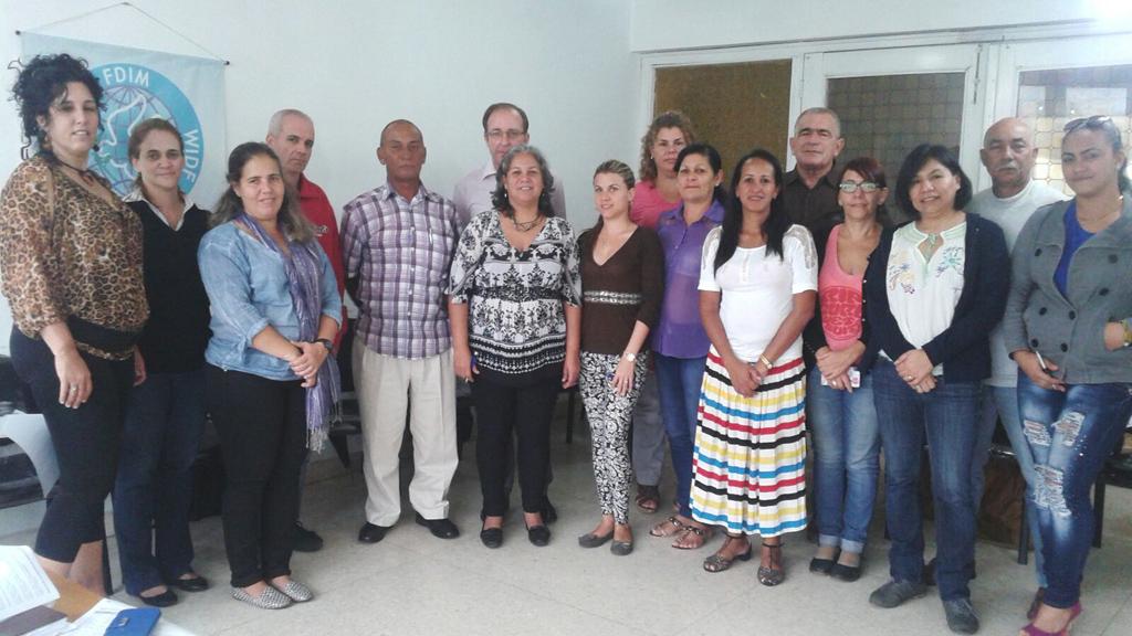 Contrapartes cubanas