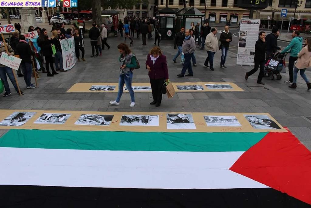 Concentración por Palestina