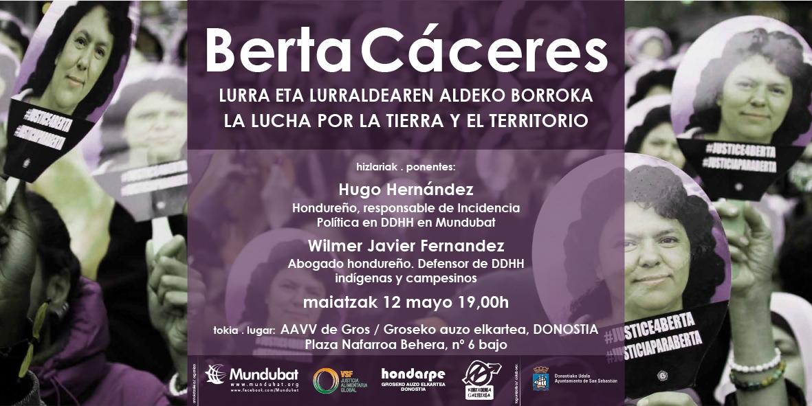 Donostia Berta Cáceres