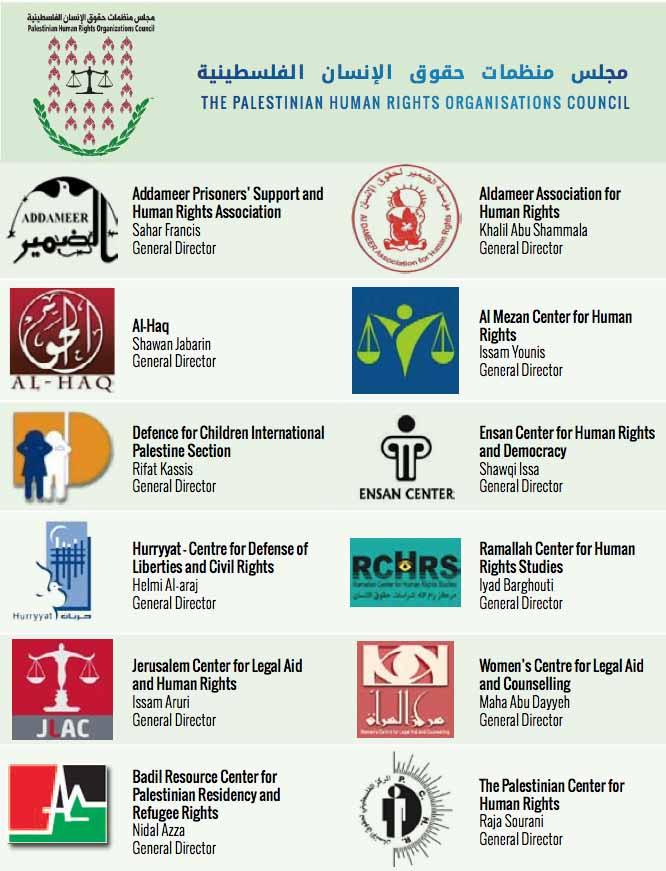 Organizaciones palestinas