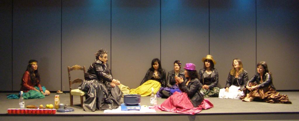 Teatro del II Encuentro de las EEF