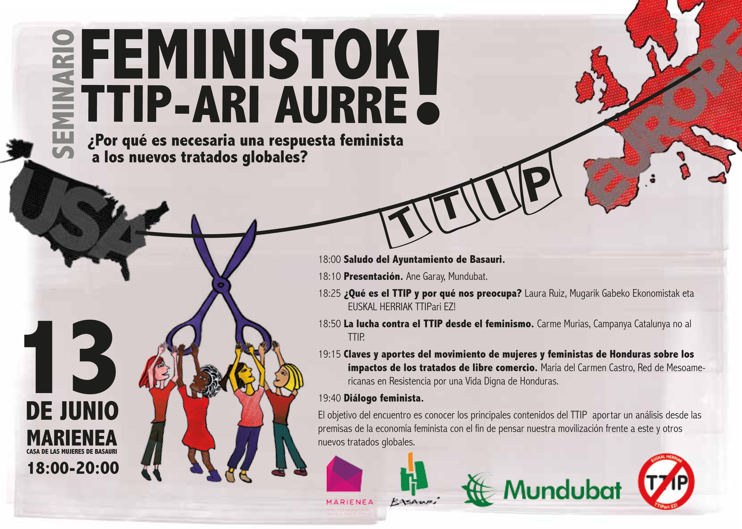 FEMINISTOK TTIP-ARI AURRE!flyer screen
