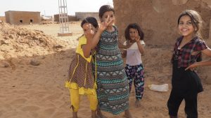 Niñez saharaui refugiada