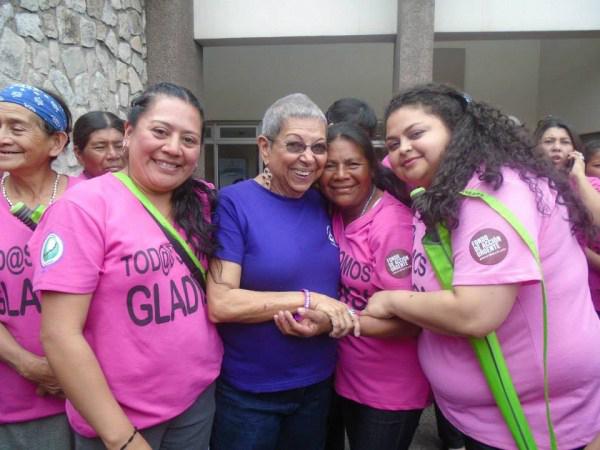 Las Chonas y Gladys Lanza