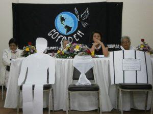Madres y esposas de desaparecidos políticos en Honduras