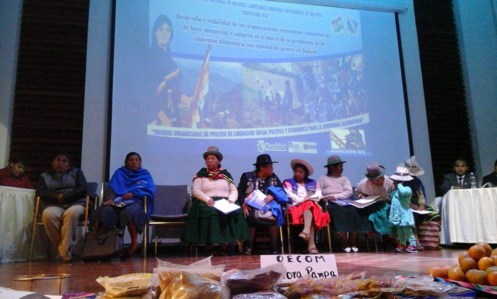OECOM Asamblea Nacional Bolivia 2016