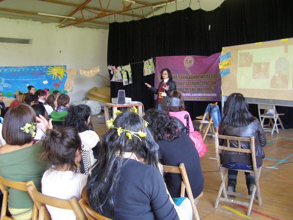 Melba Reyes en I Encuentro de EEF