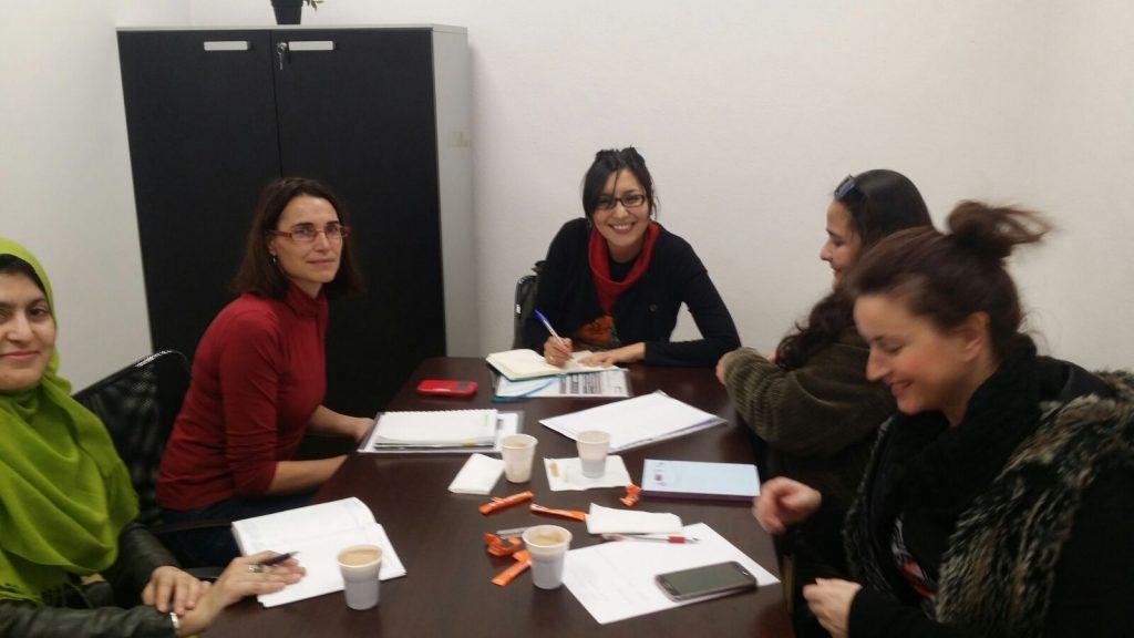 Reunión preparatoria de Encuentro de Identidades y Economía Feminista