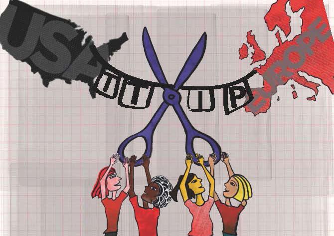 TTIP impacta mujeres