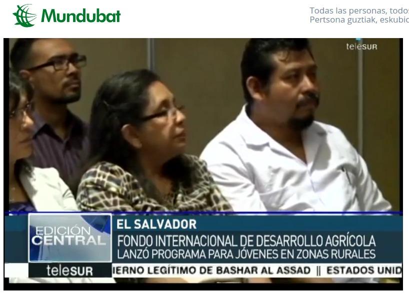 Mundubat y FIDA El Salvador
