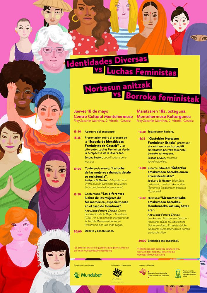 Congreso Identidades diversas y feminismo