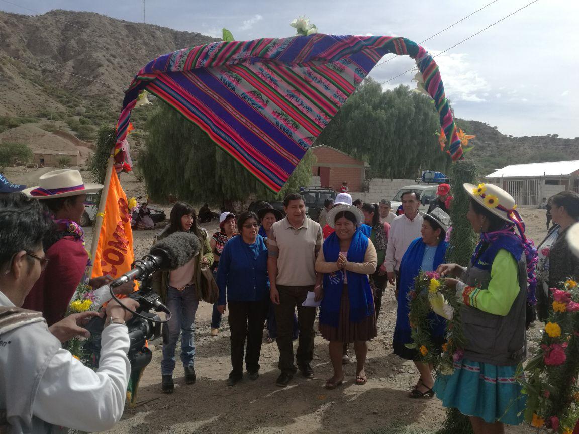 Bolivia OECOM inaugura planta de transformación de maíz