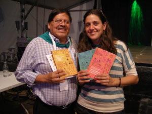 Rafael Alegría y Leticia Urretabizkaia
