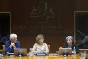 Bertha Oliva Parlamento Vasco