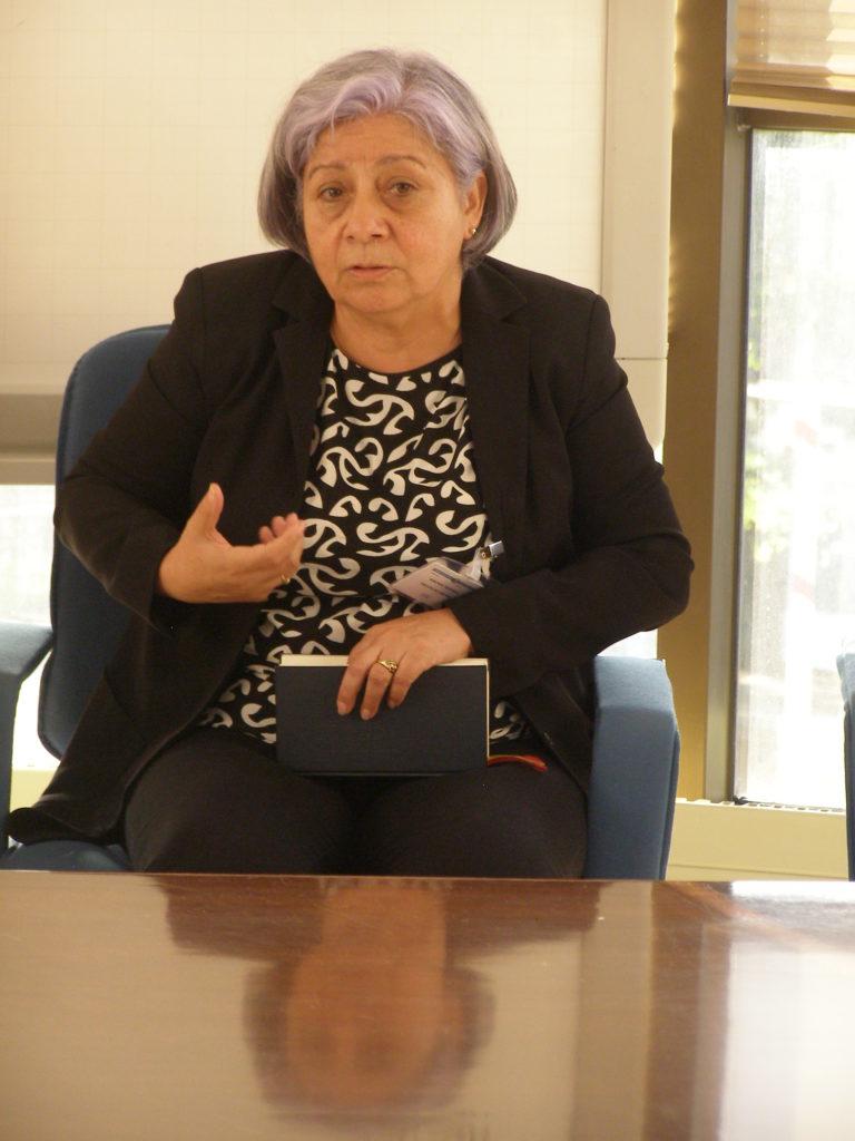 Bertha Oliva Lehendakaritza