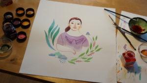 Ilustración documental Las mujeres decididas