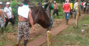 Colombia masacre Tamuco, Nariño.