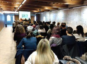 Charla Escuelas Economía Feminista en Pamplona