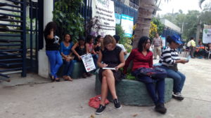 Higinia Garay en El Salvador