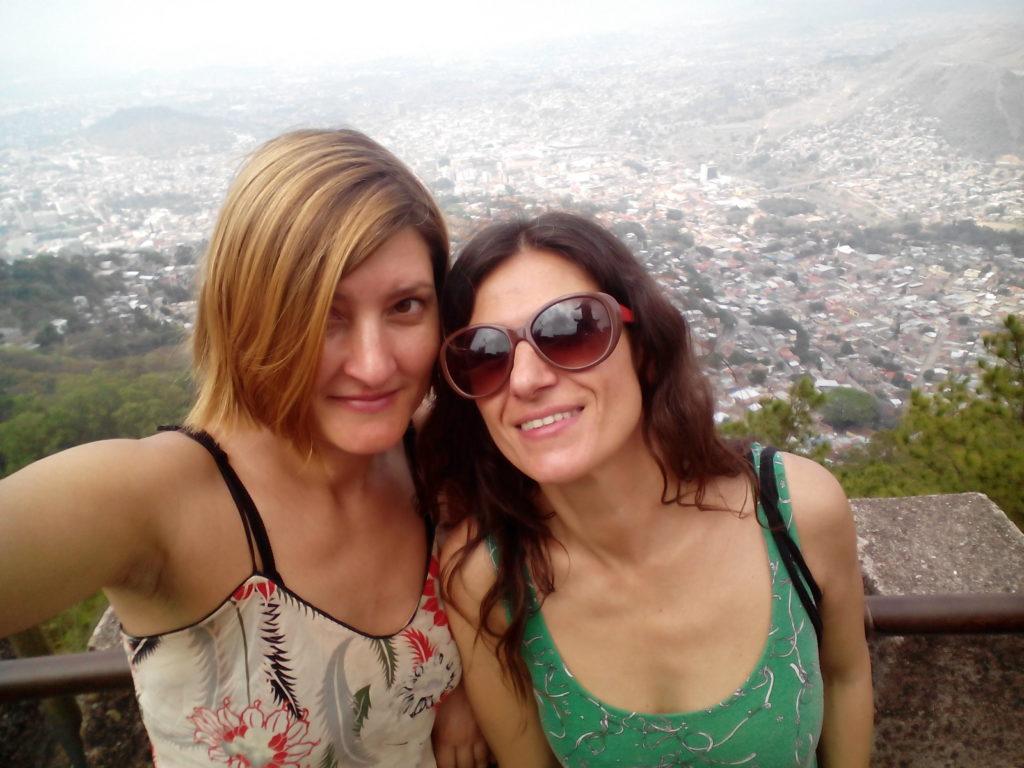 Higinia Garay e Itxaso Díaz