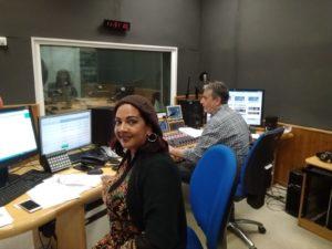 Luz Dary y Anna en Radio A Punt