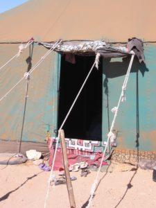 Haima campamentos saharauis