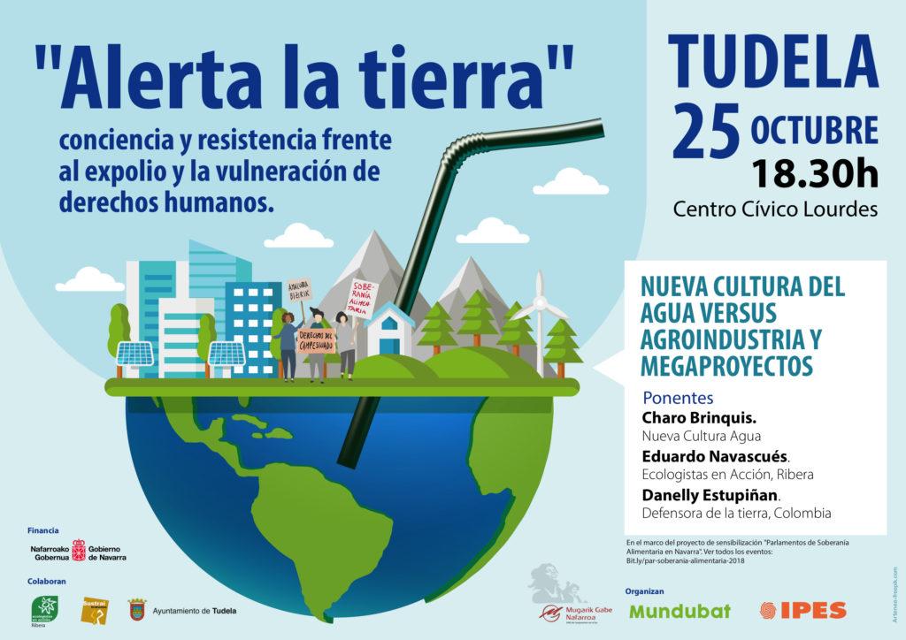 25 OCT---Alerta-Tierra-TUDELA---Cartel---CAST