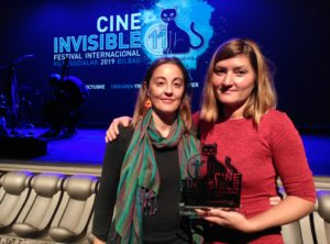 Premio Equidad de Género. Sarai Martin e Higinia Garay.