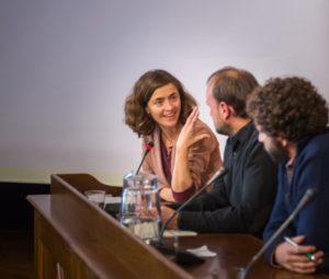 Mónica Alonso San Millán, Responsable del Eje de Derechos Humanos de la Fundación Mundubat.