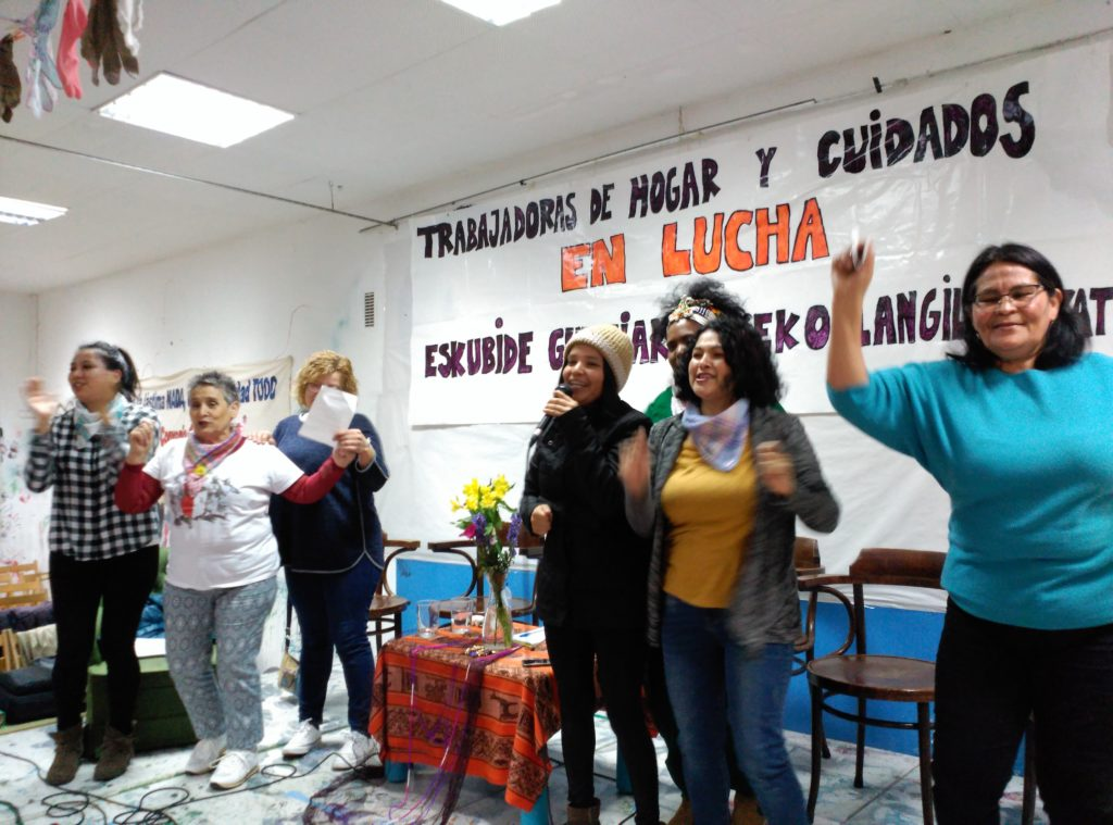 La cumbia de las mujeres trabajadoras
