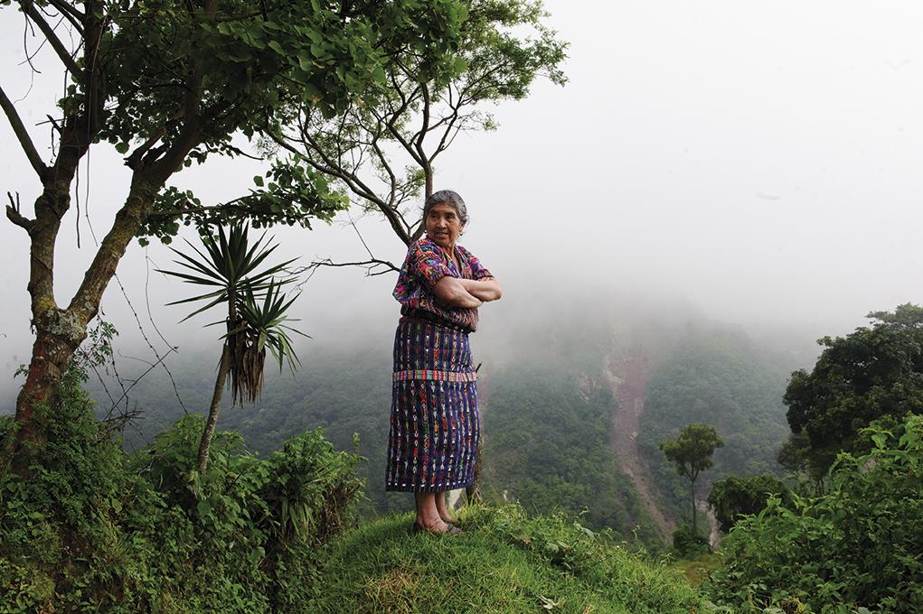 Mujer maya Guatemala