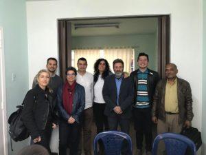 Delegación del Programa Madrid Protege se reunió con representantes de Cumbre Agraria en Colombia.