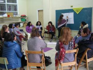 Taller empleos dignos I Jornadas de Mujeres trabajadoras de hogar y de cuidados